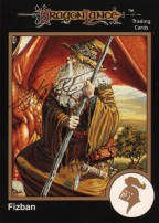 larry-elmore-tsr-AD&D-1991-gold-border-fantasy-gaming-art-card-ccg-signed-signature-autograph-dragonlance-fisban-1