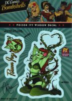 ant-lucia-bombshells-window-sticker-decal-signed-signature-autograph-dc-comics-batman-poison-ivy-1