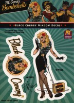 ant-lucia-bombshells-window-sticker-decal-signed-signature-autograph-dc-comics-black-canary-green-arrow-cw-1