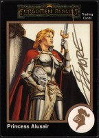 larry-elmore-signed-signature-autograph-gold-border-1991-tsr-ad&d-dungeons-and-dragons-fantasy-art-card-forgotten-realms-11