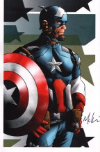 mike-mckone-signed-signature-autograph-comic-art-print-avengers-marvel-captain-america-1