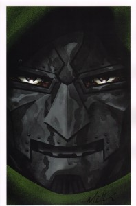 mike-mckone-signed-signature-autograph-comic-art-print-doctor-doom-fantastic-four-1