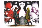 mike-mckone-signed-signature-autograph-comic-art-print-marvel-spider-man-spiderman-spider-gwen-1