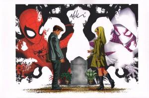 mike-mckone-signed-signature-autograph-comic-art-print-marvel-spider-man-spiderman-spider-gwen-1