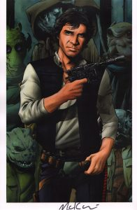 mike-mckone-signed-signature-autograph-comic-art-print-marvel-star-wars-han-solo-1