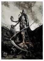 sideshow-exclusive-fine-art-premium-print-le-court-of-the-dead-exaulted-reaper-general-1