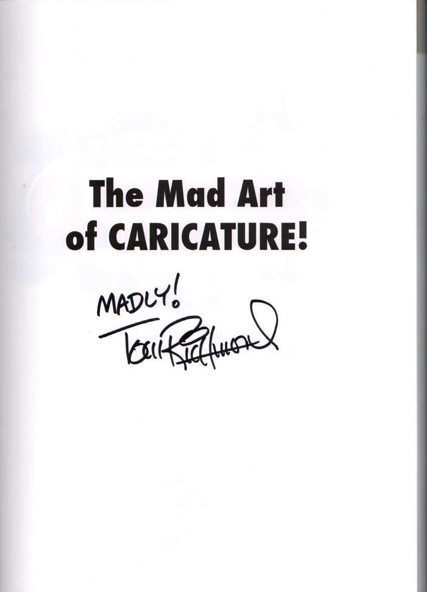 THE MAD ART OF CARICATURE A Serious Guide to Drawing Funny Faces