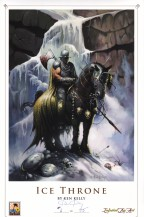ken-kelly-signed-signature-autograph-deathdealer-death-dealer-iceman-ice-man-le-art-print-numbered-1