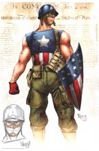 billy-tucci-signed-remarque-comic-art-print-captain-america-new-version-1
