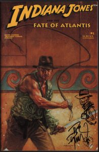 indiana-jones-fate-of-atlantis-signed-remarqued-dave-dorman-original-sketch-cover-1
