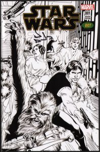 alan-davis-signed-star-wars-sketch-variant-cover-first-issue-return-to-marvel-1
