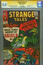 cgc-ss-signed-stan-lee-strange-tales-135-first-1st-appearance-nick-fury-agent-of-shield-jack-kirby-art-1