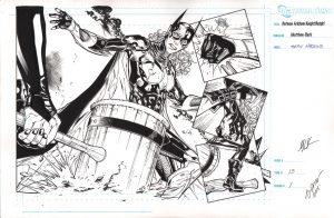 matthew-clark-signed-batman-batgirl-original-art-2