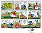 snuffy-smith-original-art-sketch-strip-john-rose-remarque-1