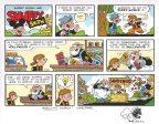 snuffy-smith-original-art-sketch-strip-john-rose-remarque-2
