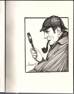 sherlock-holmes-big-book-of-stories-original-art-remarque-sketch-thomas-gianni-1