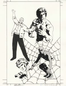 amazing-fantastic-incredible-stan-lee-original-art-spider-man-spiderman-incredible-hulk-lou-ferrigno-1