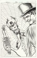 batman-'66-adam-west-burt-ward-original-art-cover-penguin-burgess-meredith-mike-allred-1