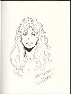 larry-elmore-original-art-sketch-elf-woman-female-complete-signed-signature-autograph-1