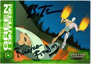 ramona-fradon-bruce-timm-signed-metamorpho-green-lantern-justice-league-premium-trading-card-1