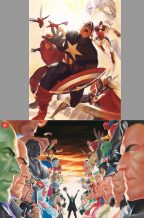 alex-ross-canvas-print-set-avengers-justice-league-mini-matching-numbers-1