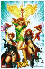 j-scott-campbell-x-men-xmen-art-print-signed-signature-autograph-phoenix-black-queen-jean-grey-gray-1