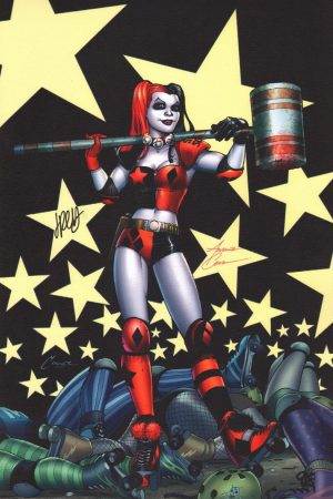 amanda-connner-jimmy-palmiotti-signed-harley-quinn-dc-comics-art-print-1