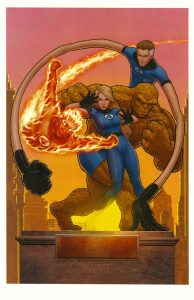 john-tyler-christopher-signed-signature-autograph-art-print-fantastic-four-marvel-comics-thing-human-torch-invisible-girl-mr-fantastic-1