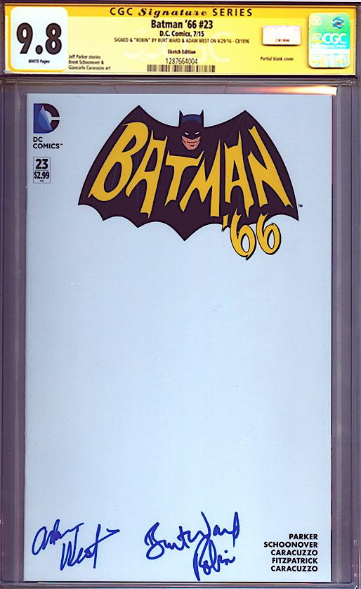 adam-west-burt-ward-signed-signature-autograph-cgc-ss-signature-series-batman-66-blank-sketch-cover-1