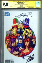 cgc-ss-signature-series-autograph-signed-stan-lee-george-perez-avengers-iron-man-captain-america-thor-scarlet-witch-vision-1