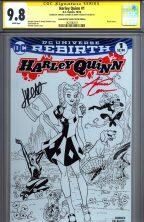 cgc-ss-signature-series-jimmy-palmiotti-amanda-conner-art-harley-quinn-rebirth-first-issue-variant-emerald-city-oz-wizard-of-catwoman-poison-ivy-power-girl-sketch-cover-1