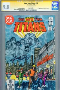 cgc-ss-signed-signature-series-autograph-george-perez-new-teen-titans-26-first-1st-appearance-of-terra-art-1