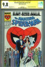 cgc-ss-signed-signature-series-autograph-stan-lee-amazing-spider-man-spiderman-annual-21-wedding-issue-direct-cover-john-romita-sr-art-1