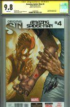 cgc-ss-signed-signature-series-autograph-stan-lee-first-silk-amazing-spiderman-spider-man-1-original-sin-1