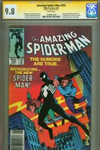 cgc-ss-signed-signature-autograph-stan-lee-amazing-spider-man-spiderman-252-first-black-costume-bronze-age-1