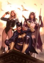 alex-garner-sideshow-exclusive-art-print-batgirl-huntress-black-canary-1