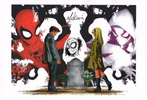 mike-mckone-remarqued-signed-art-print-original-sketch-spider-man-spiderman-gwen-stacy-1