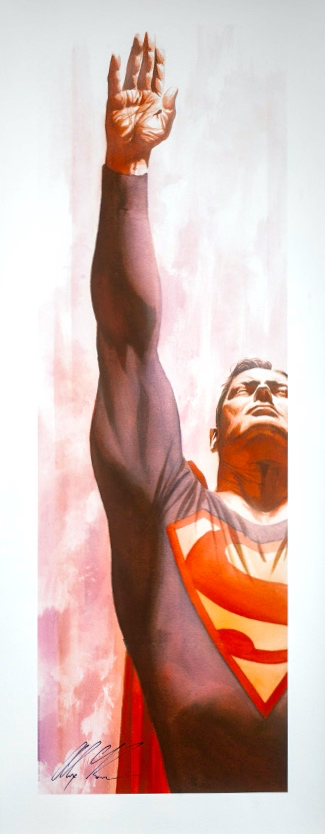 superman-immortal-alex-ross-sideshow-exclusive-hand-signed-art-print-1