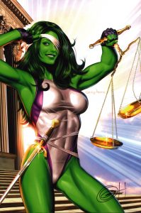 greg-horn-signed-comic-art-print-signature-autograph-poster-she-hulk-1