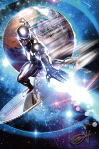 greg-horn-signed-comic-art-print-signature-autograph-poster-silver-surfer-1