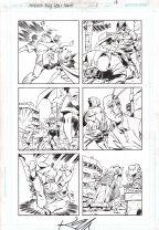 Ambush But Year None Original Art Issue #1 Page 18 Comic Art