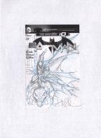 Angel Medina Original Art Prelim Sketch ~ Batman Comic Art