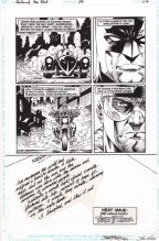 Barry Kitson Original Art Page ~ Shadow of the Bat #37 Comic Art