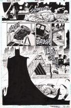Barry Kitson Original Art Partial Splash Page ~ Shadow of the Bat #37 Comic Art
