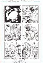 Ambush Bug Year None Original Art Issue #5 Page 16 Comic Art