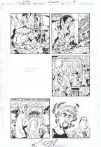 Ambush Bug Year None Original Art Issue #5 Page 14 Comic Art