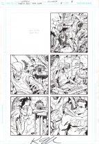 Ambush Bug Year None Original Art Issue #5 Page 8 Comic Art