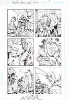 Ambush Bug Year None Original Art Issue #5 Page 5 Comic Art
