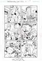 Ambush Bug Year None Original Art Issue #5 Page 4 Comic Art